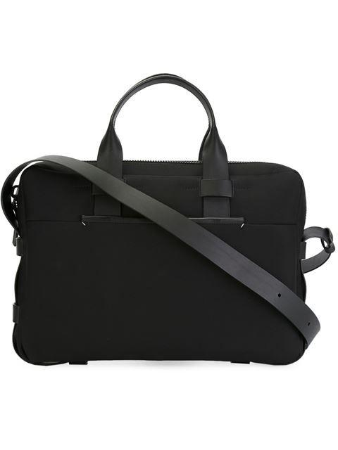 79b4c35601 TROUBADOUR TROUBADOUR - FABRIC & LEATHER BRIEFCASE . #troubadour #bags #shoulder  bags #hand bags #nylon #leather #cotton #