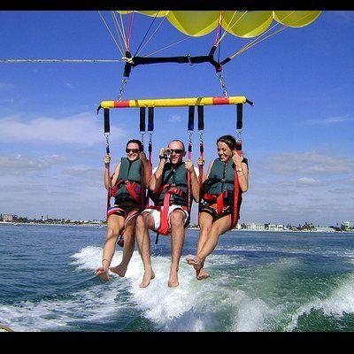 Paradise Parasail Fort Myers Beach Florida Fort Myers Florida