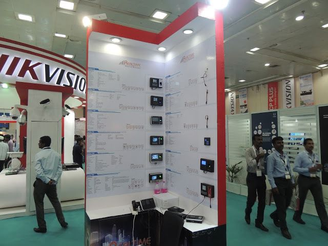 Hi Focus Cctv Camera Expo Stall At Chennai Trade Center Right