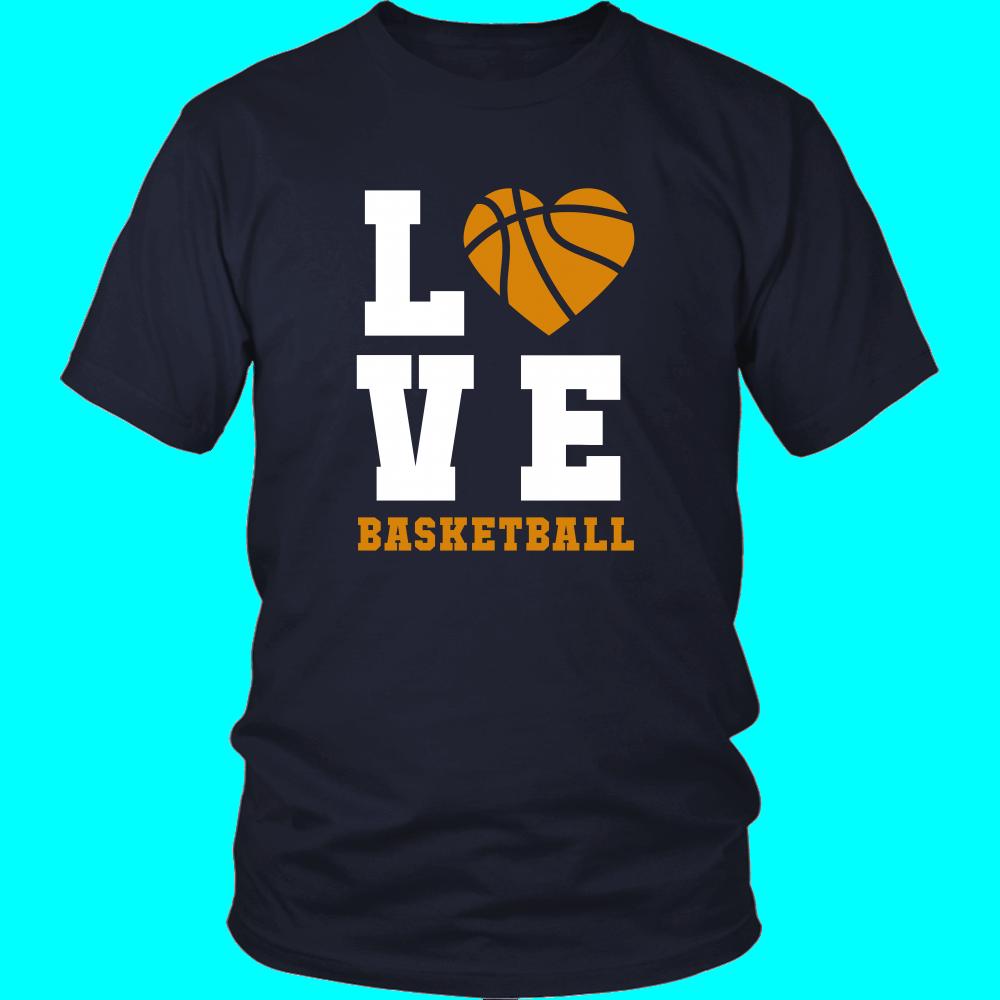 Basketball Love T Shirt Sport Design Apparel Basketball T Shirt Designs Basketball Shirts Basketball Uniforms Design