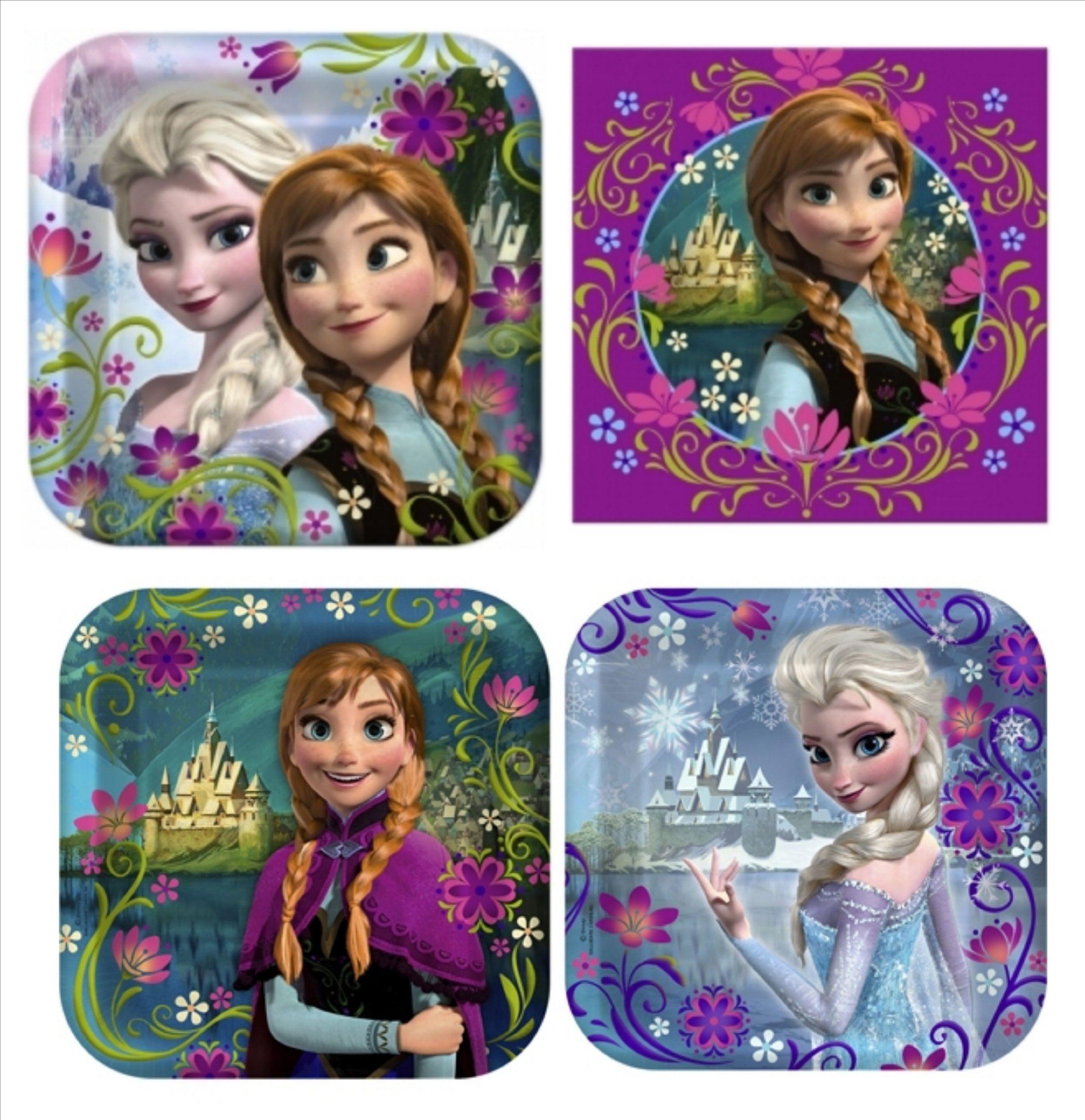 Disney Frozen Birthday Party Supplies WebNuggetzcom Disney