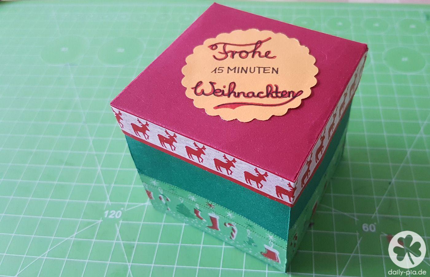 DIY: 15 Minuten Auszeit-Box | Kindergarten, Creative and Craft