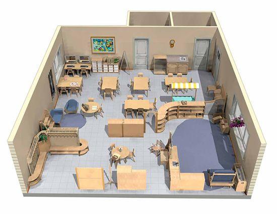Classroom Layouts Elementary : Elementary school classroom layout furniture