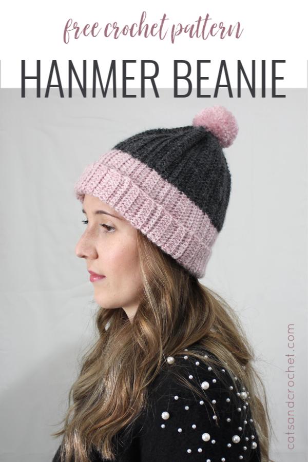 5c9fa7b4680 The Hanmer beanie is a super easy roll brim beanie in lush alpaca blend yarn