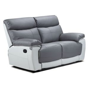 Duo Lexi 2 Seater Leather Recliner Sofa | For the home | Reclining ...