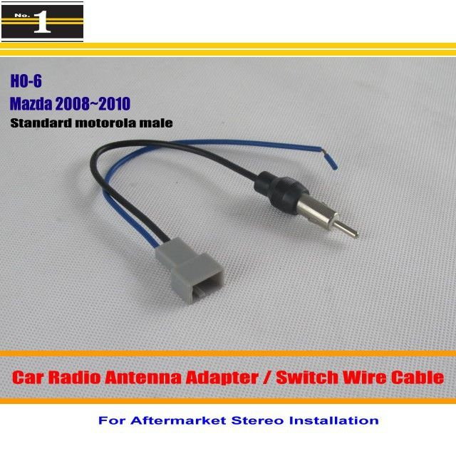 For mazda 3 mazda 6 car radio antenna adapter aftermarket for mazda 3 mazda 6 car radio antenna adapter aftermarket stereo antenna wire sciox Images