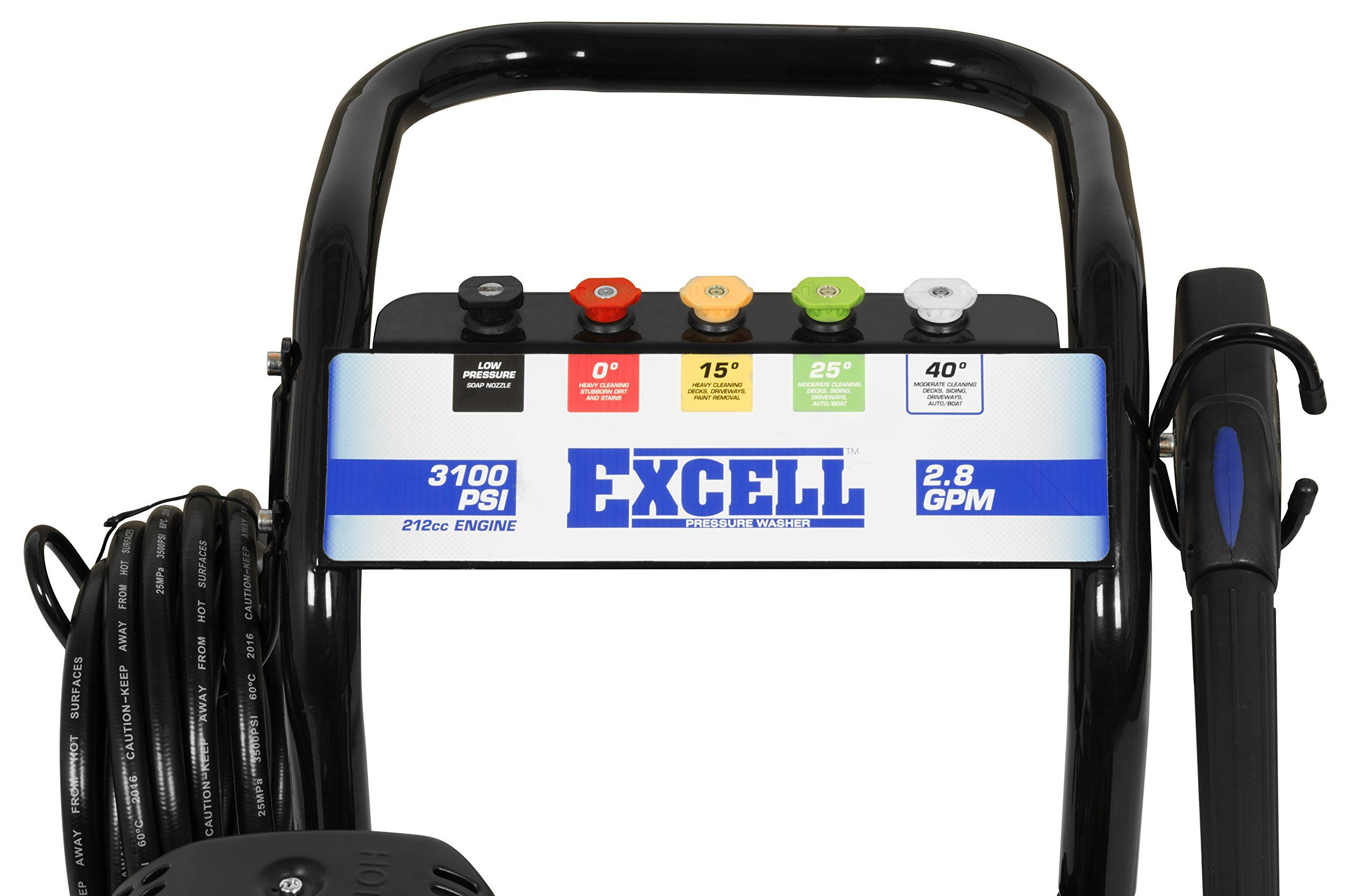 excell EPW2123100 3100 PSI 2 8 GPM Cold Water 212CC Gas