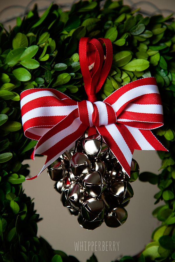 WhipperBerry DIY Jingle Bells Christmas Ornament Tutorial Best of
