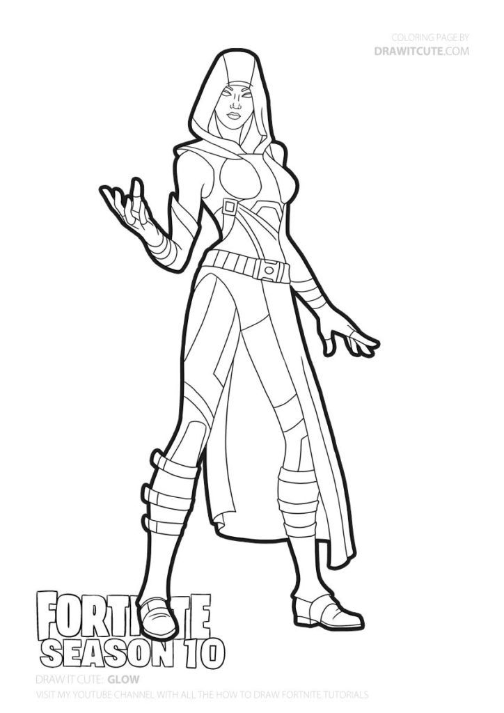 Glow Fortnite Coloring Page Color For Fun Fortniteclans Fortniteplayground Fortnitefr Fortnitewor Coloring Pages Superhero Coloring Cute Coloring Pages