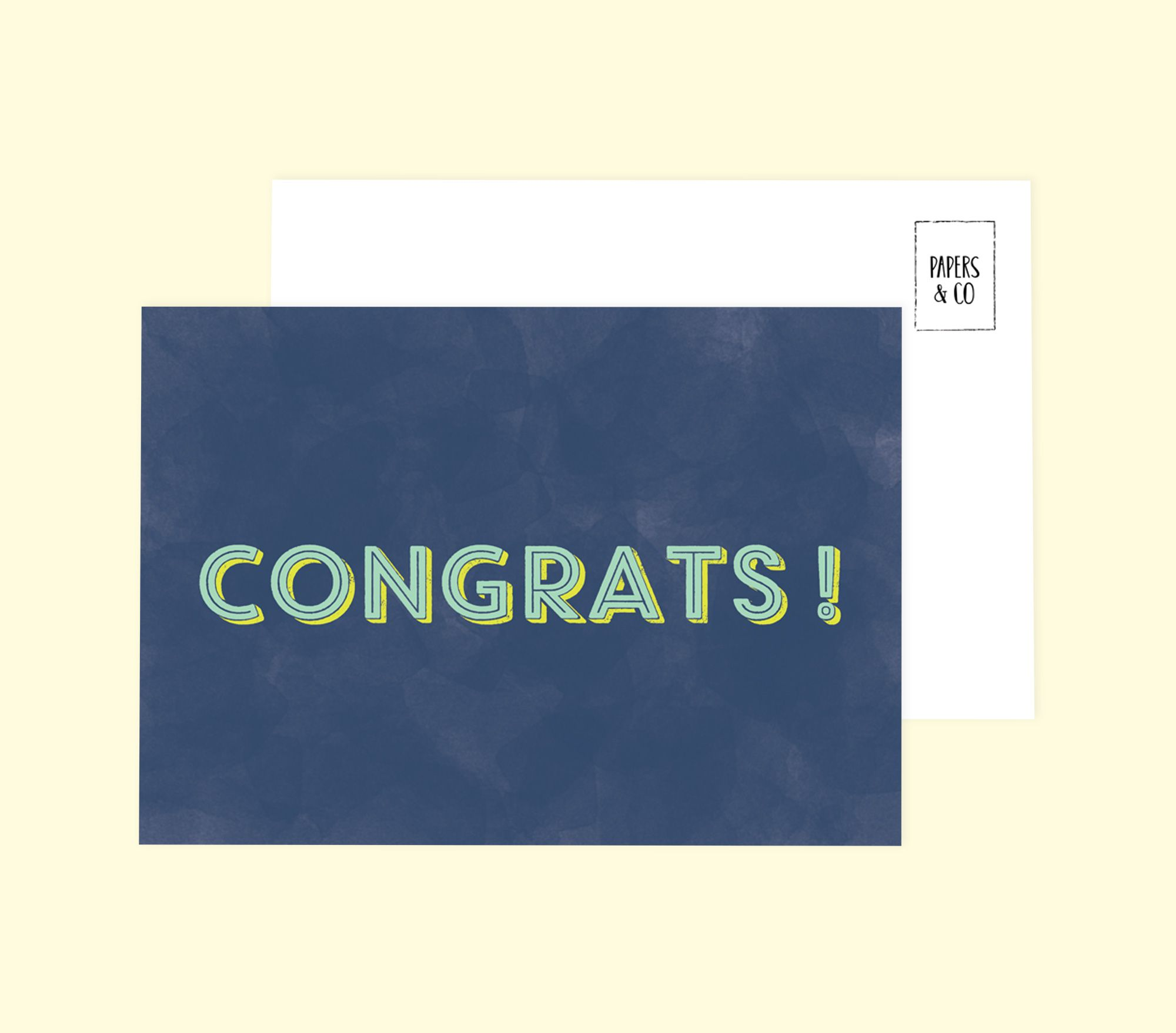 Congrats Card Cards Gsm Paper Paper Dimensions