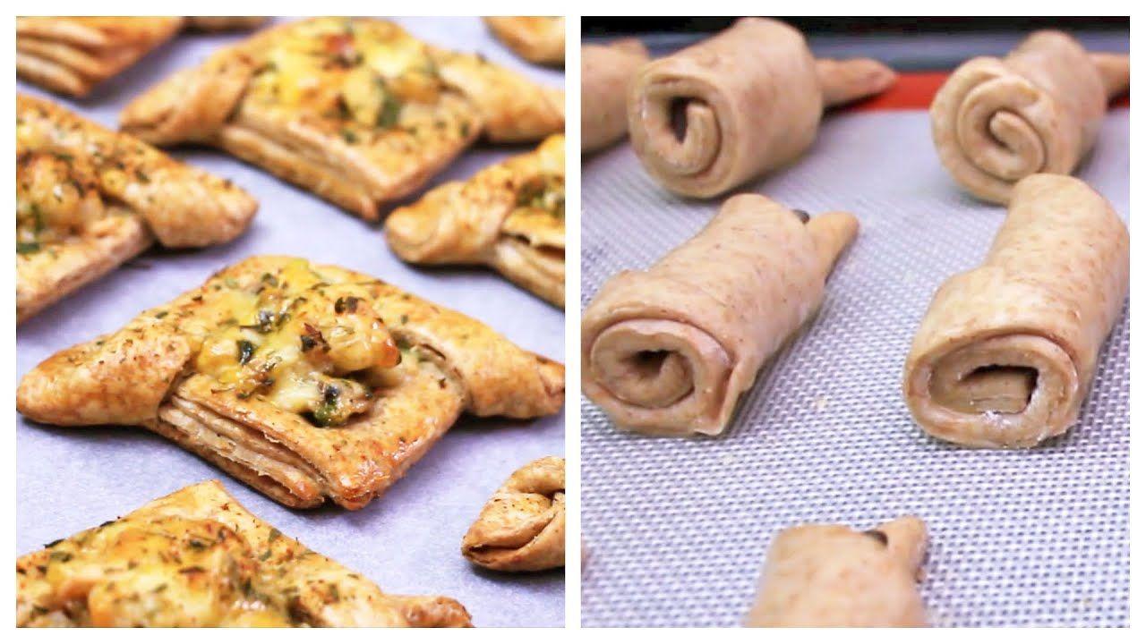 بعجين ساهل حضري فطائر مالحة واخرى حلوة مورقة ومقرمشة وتحلية طبيعية من اروع مايكون Food Desserts Cookies