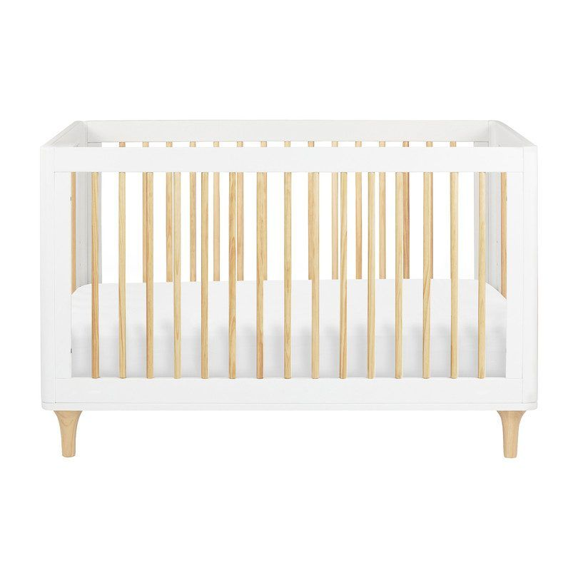 Lolly 3-in-1 Convertible Crib with Toddler Bed Conversion Kit, White - Home Furniture Cribs & Bassinets - Maisonette