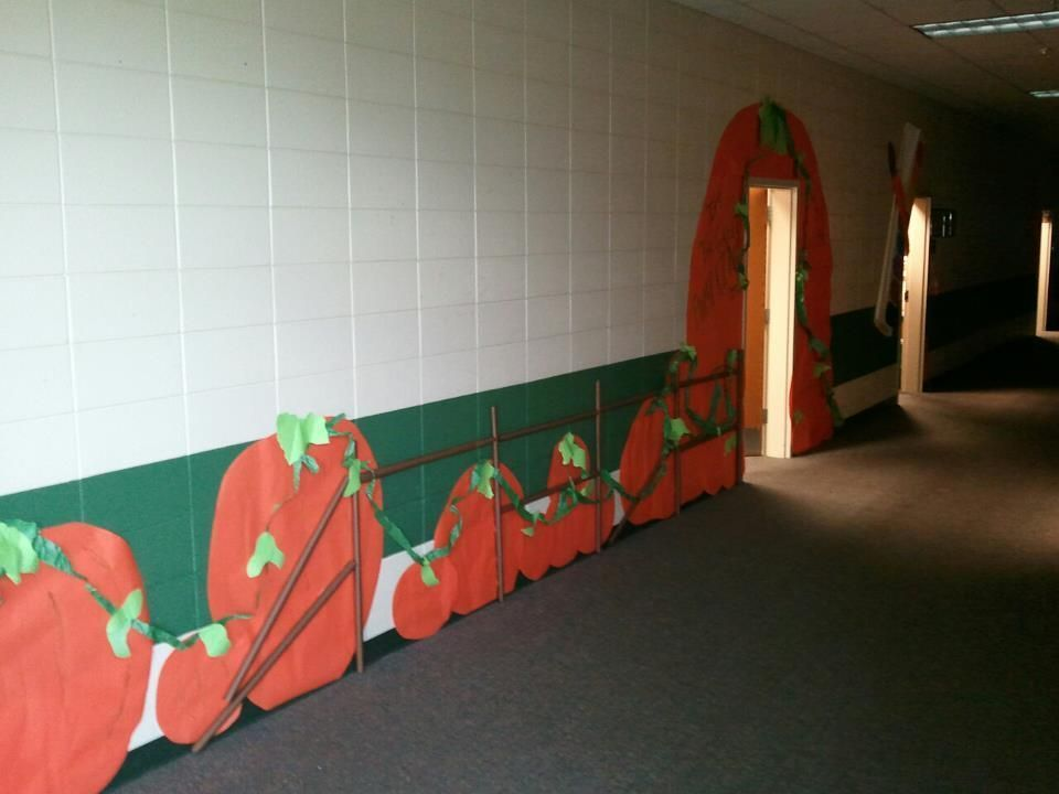 Its The Great Pumpkin- pumpkin patch.  Bulletin board paper cut in different sizes. Fence is rolled up bulletin board paper.  vines are crinkled paper glued to the pumpkins. #pumpkinpatchbulletinboard Its The Great Pumpkin- pumpkin patch.  Bulletin board paper cut in different sizes. Fence is rolled up bulletin board paper.  vines are crinkled paper glued to the pumpkins. #pumpkinpatchbulletinboard Its The Great Pumpkin- pumpkin patch.  Bulletin board paper cut in different sizes. Fence is rolle #pumpkinpatchbulletinboard
