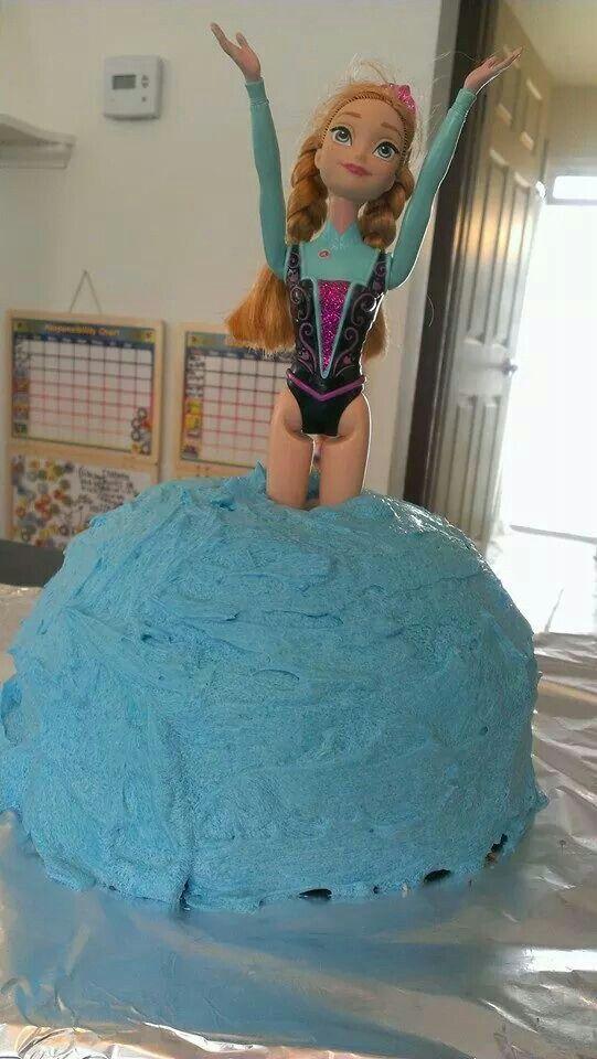 Frozen cake Anna Elsa fail frozen fail frozencakefail