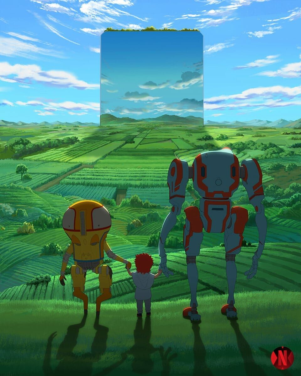 "Netflix Unveils ""Eden"" Anime Anime eden, Netflix anime"