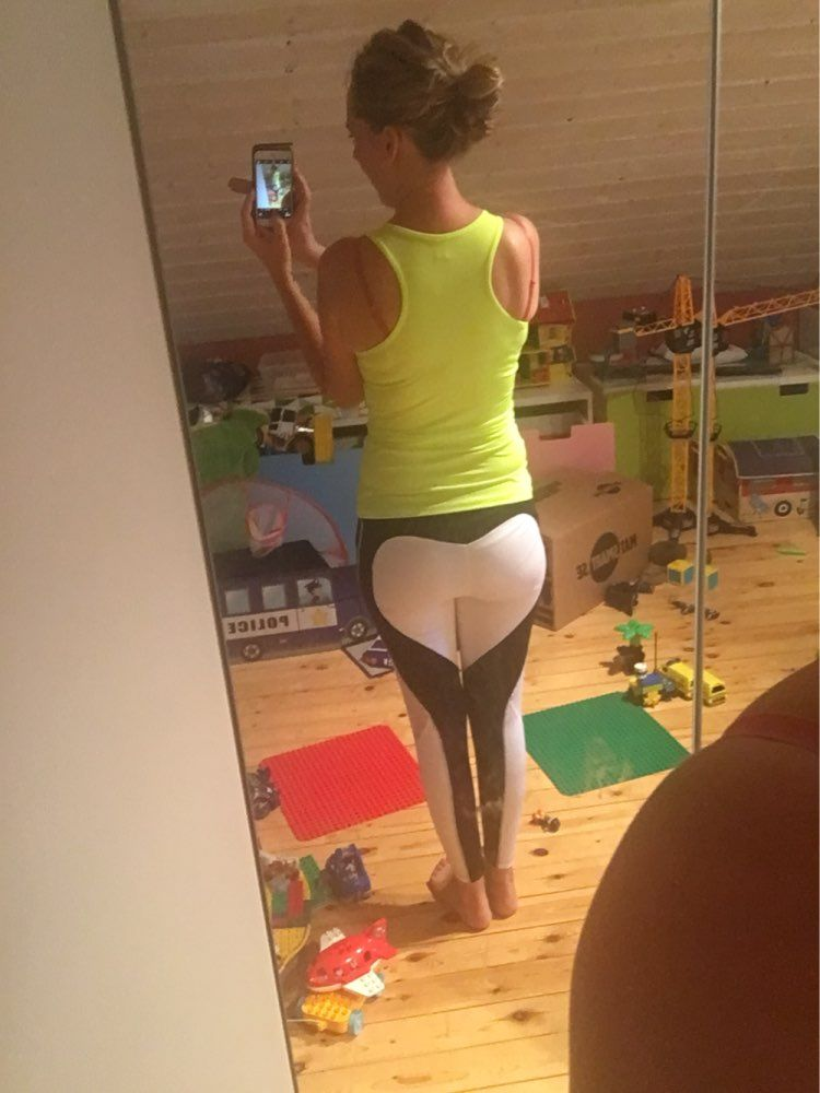 d3edacc70b2 An exclusive Heart Shape design in the back of the leggings when legs are  together.  prettyfitbox.com   19.98 + Free shipping!
