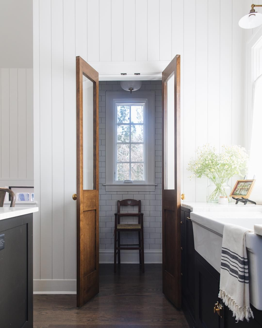 Galley Kitchen With French Doors: We Are Getting So Much Love From Many Of You On IG Because