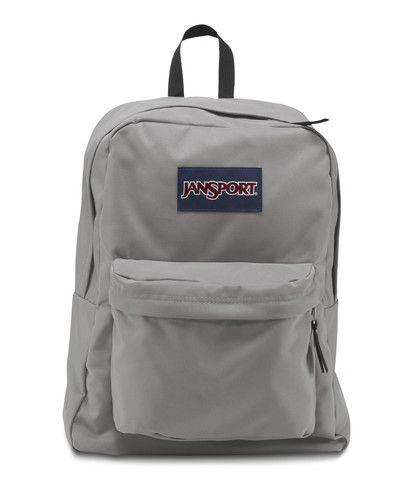 Jansport Superbreak Backpack - Grey Rabbit Available at www ...