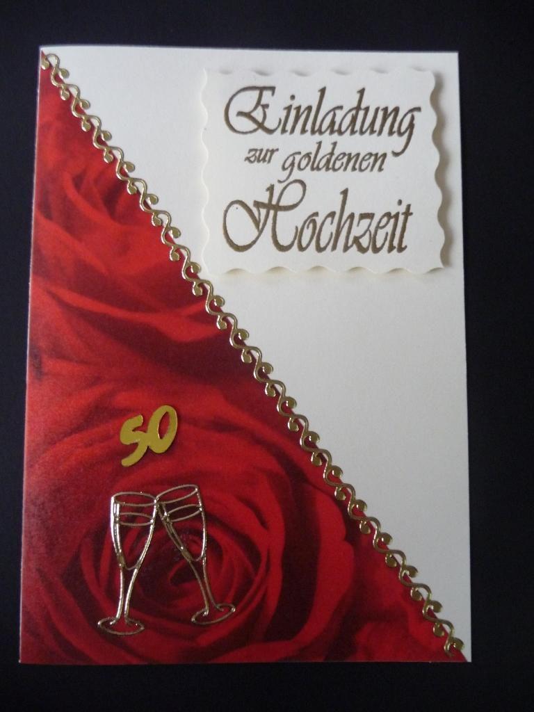 Einladungskarten Hochzeit : Einladungskarten Goldene Hochzeit   Online  Einladungskarten   Online Einladungskarten