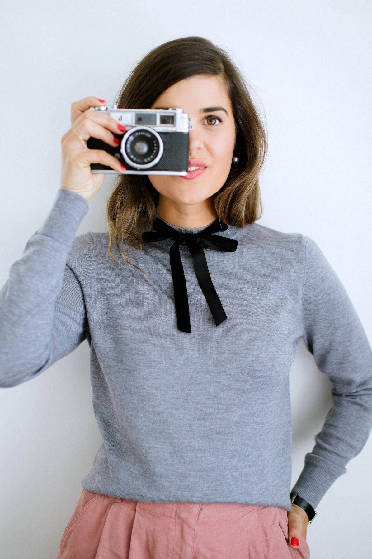 DIY Bow Neck Knit, right this way