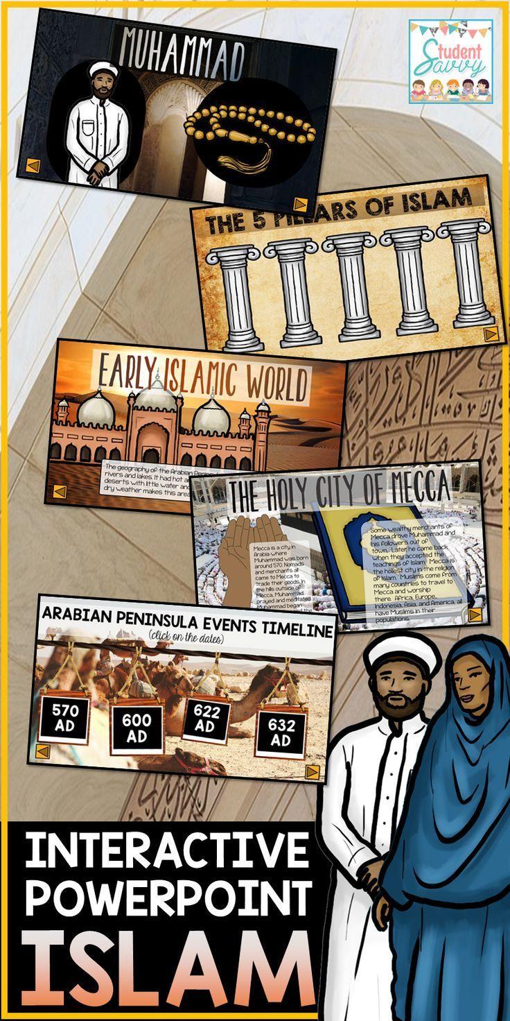 Islamic Empire Unit Powerpoint (Google Slides version also
