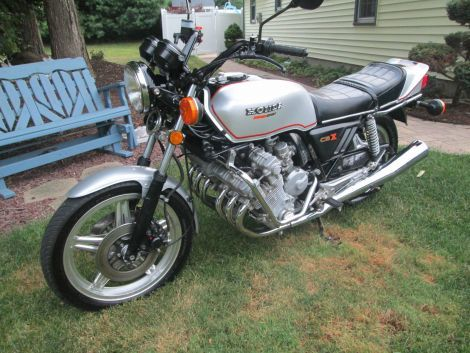 1979 Big Dog CBX | Black 1979 Big Dog Classic Motorcycle in