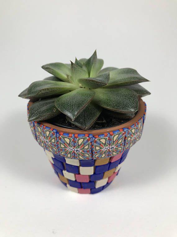 Tiny Succulent Pot Decorative Flower Pot Small Plant Pot Ceramic Pot Kitchen Decor Home Decor Gift D Decorated Flower Pots Small Potted Plants