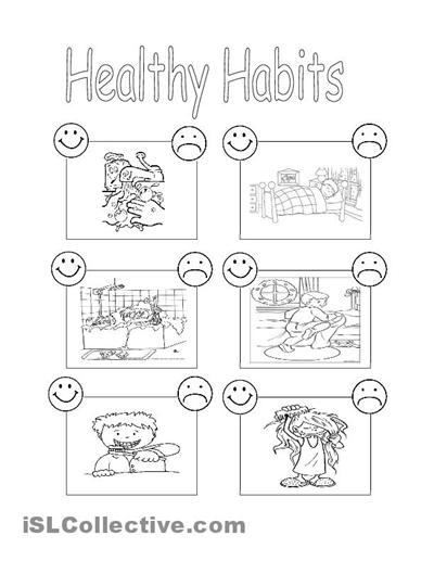 Healthy habits Healthy habits for