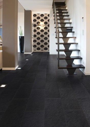 Heraklia Black anti-slip floor tiles £8.99 each