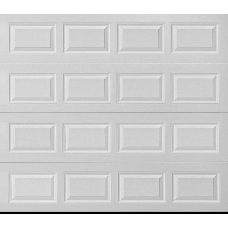 Pella Traditional 96 In X 84 In White Single Garage Door Lowes Com Garage Doors Garage Door Styles Single Garage Door