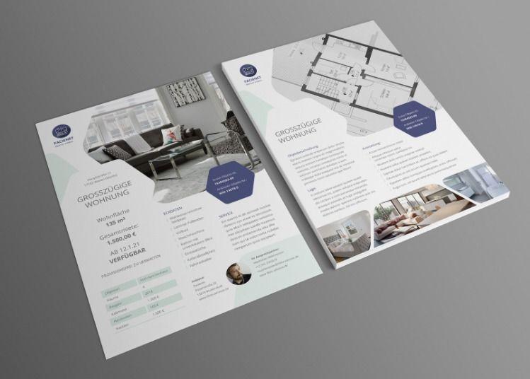 Designstarke Vorlagen Für Immobilienfirmen Und