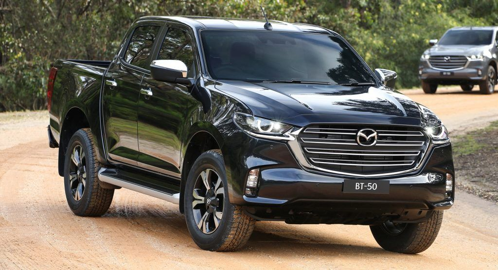 2021 mazda bt50 pickup goes full kodo design has isuzu