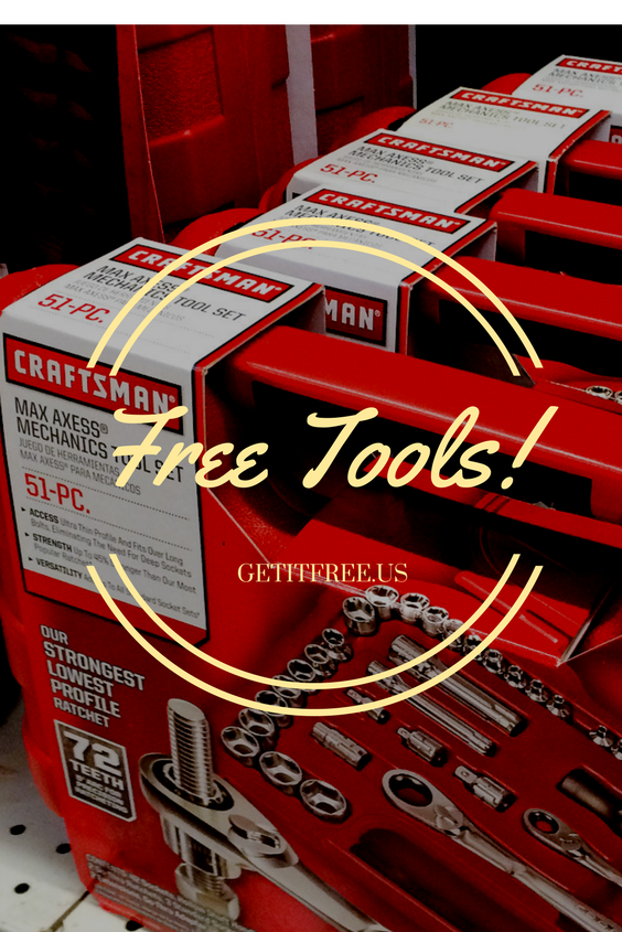 Our Warehouse Is Full These Free Craftsman Tool Samples Must Go