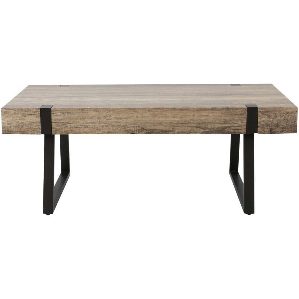 Noble House Irondale Coffee Table Canyon Gray 299986 Best Buy Rectangular Coffee Table Coffee Table Rustic Seating [ 1000 x 1000 Pixel ]