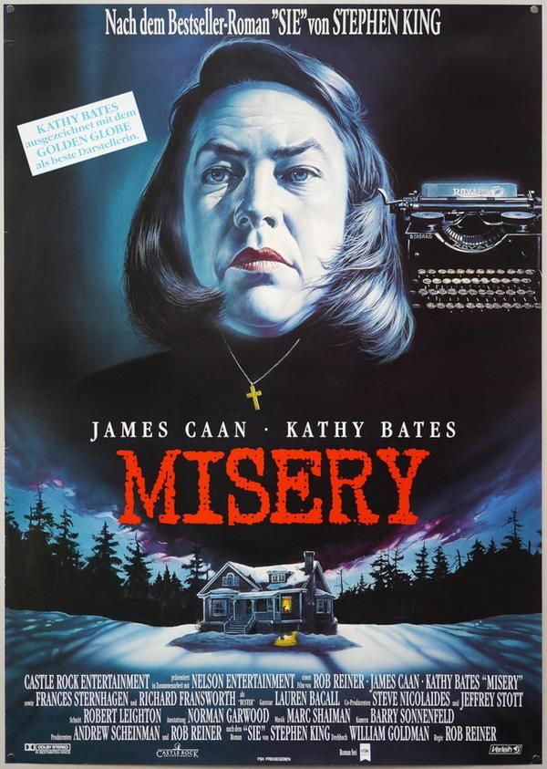 Movie Poster of the Day Misery 1990 in German  MOVIE i
