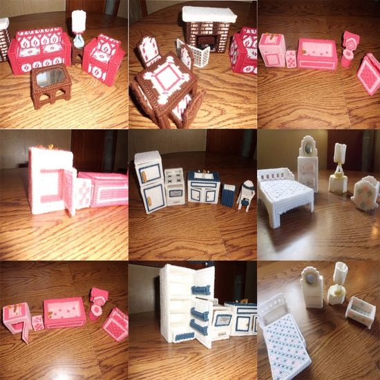 Barbie Furniture Diy: DIY Barbie House / Furniture Or