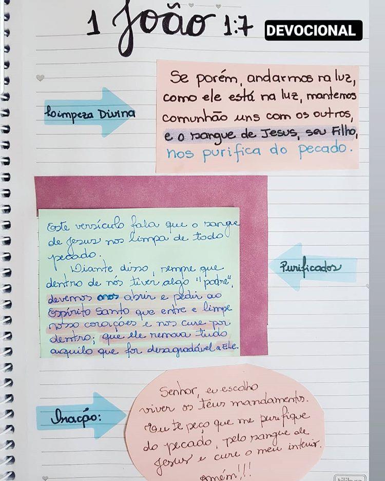 Pin De Rah Sousa Em Diario De Estudo Da Biblia Em 2020 Devocionais