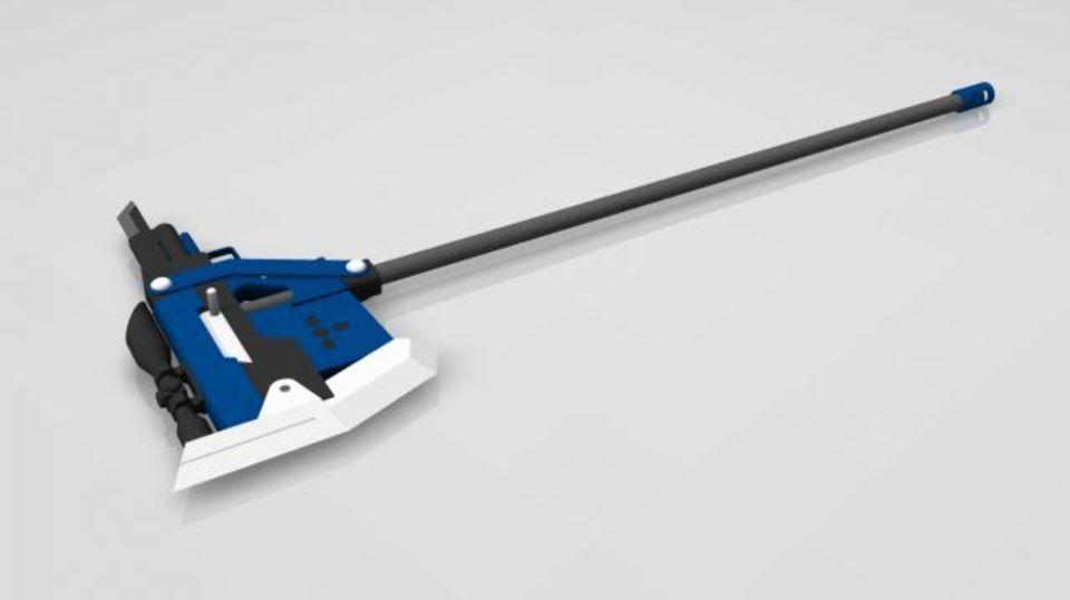 Rwby Oc Weapon Sniper Battle Axe 2 2 Rwby Weapon Concept Art