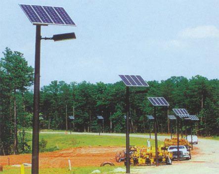 Solar Street Light Project In Capetown