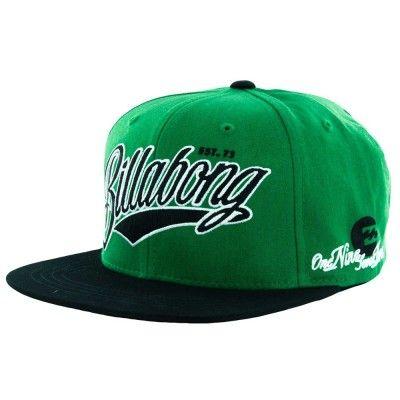 Boné Billabong Men s Cutter Hat Green  Billabong Boné  3e63296d722