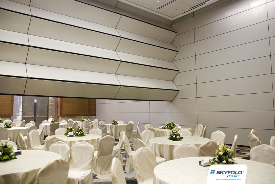 Skyfold Moveable Folding Operable Walls Ballroom