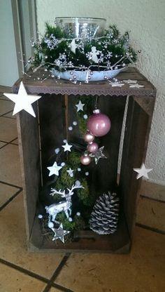 Resultado de imagen de weihnachtsdeko hauseingang #decorationentrance