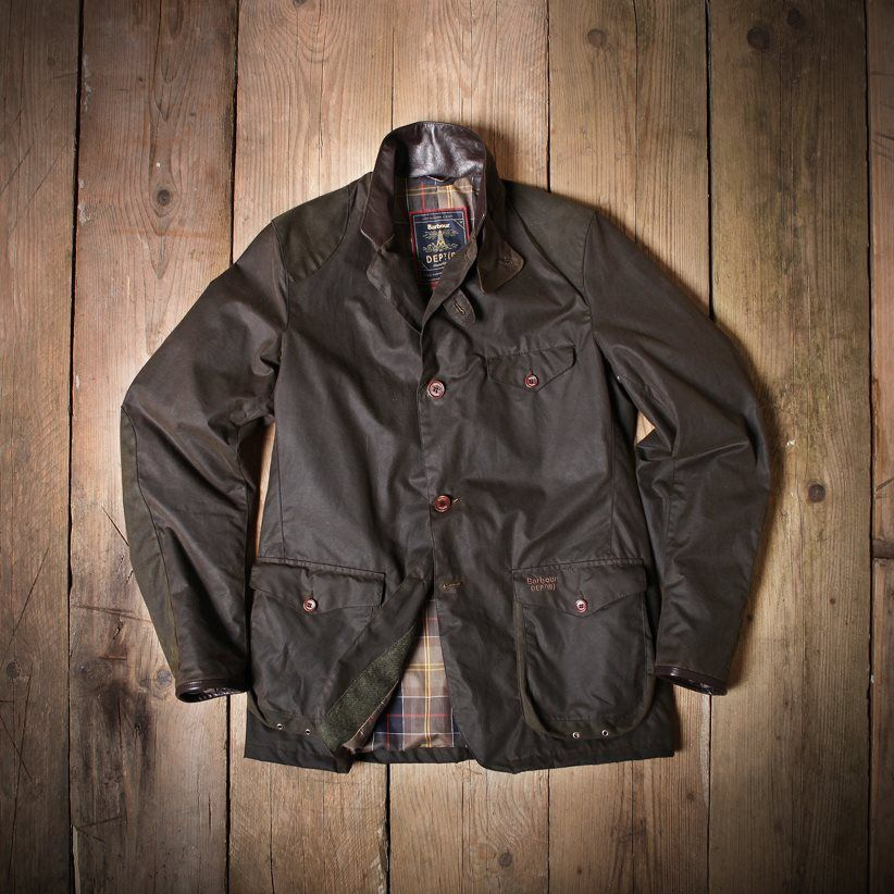 Barbour Commander Jacket modelled after the James Bond Skyfall jacket