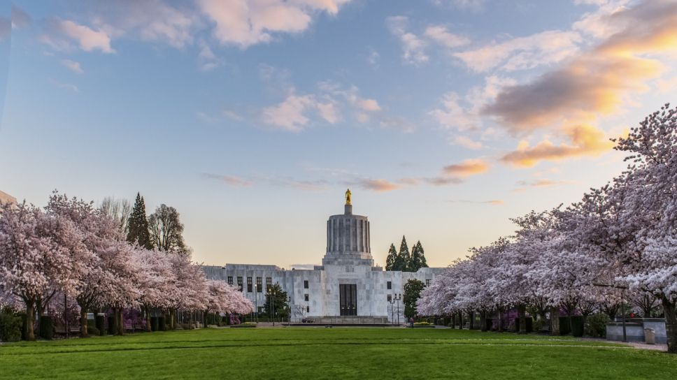Oregon State Capitol, Salem Best places to live, Travel