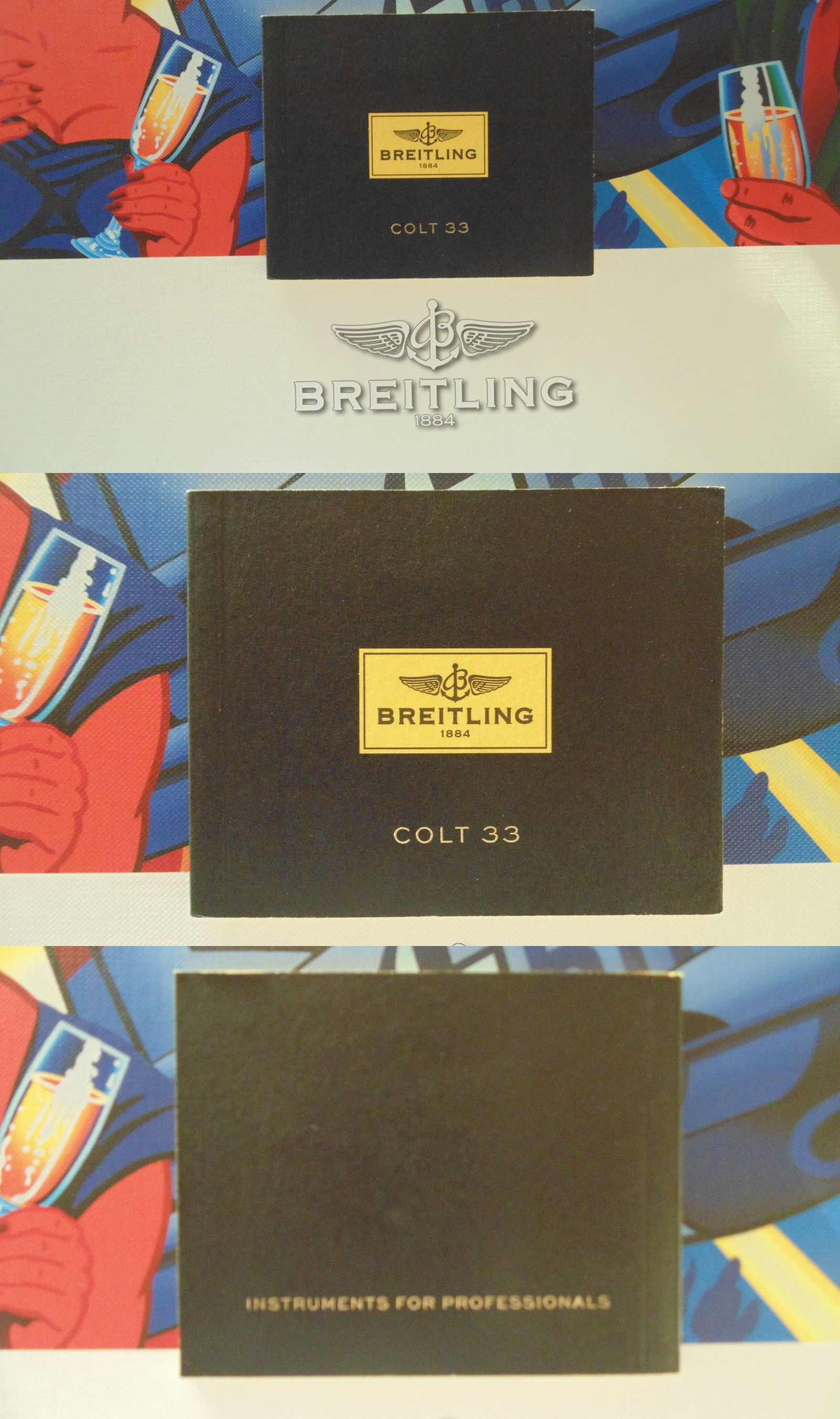 manuals and guides 93720 breitling pilots divers watch instruction rh pinterest ca breitling colt automatic instruction manual Breitling Colt Automatic
