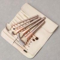 Category: makeup brush Brush sets count: 12 Bristles Material: rayon Brush Pack Type: PU Brush handl