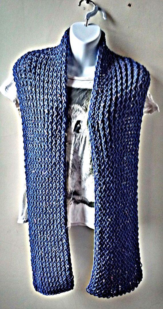 blue hipster scarf aran knit scarf knit scarves blue scarf blue