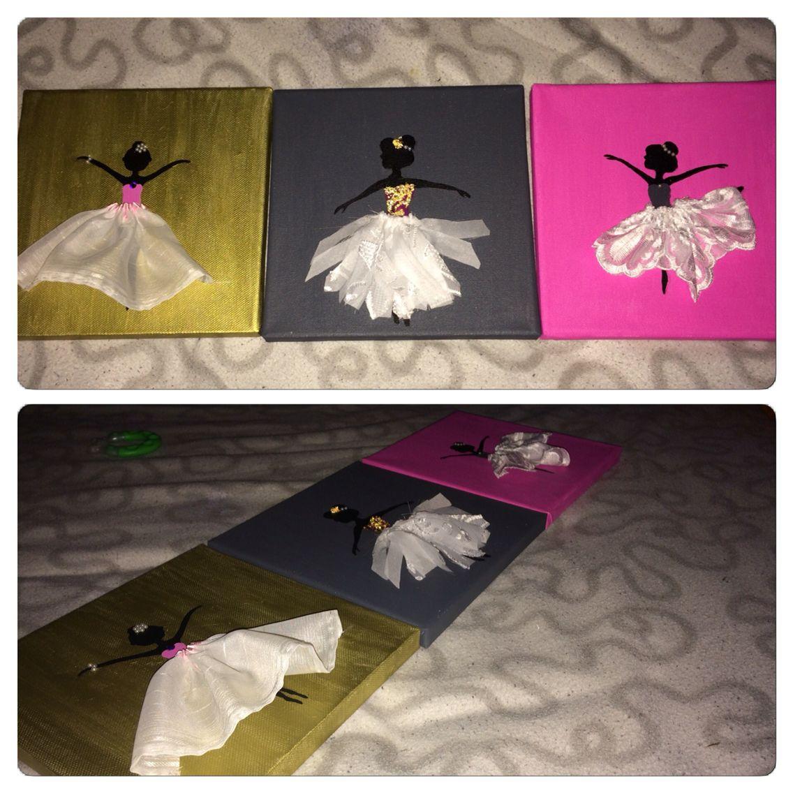 ballerina bilder f r das kinderzimmer selber malen und basteln basteln pinterest basteln. Black Bedroom Furniture Sets. Home Design Ideas