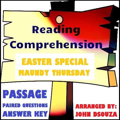A Seasonal (Easter) Reading Comprehension Passage with ...