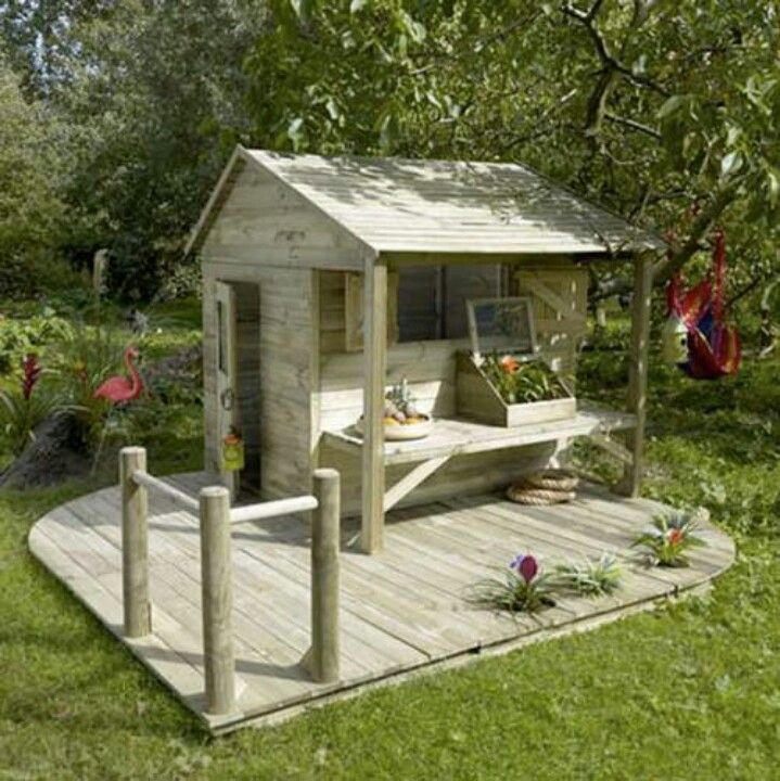 Casita tree house pinterest playhouses garden and for Backyard casita plans